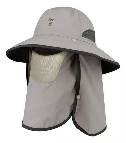 Chapéu de proteção solar ao ar livre upf 50+ sun cap