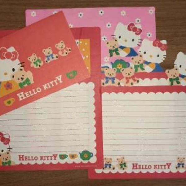 Conjunto papel de carta