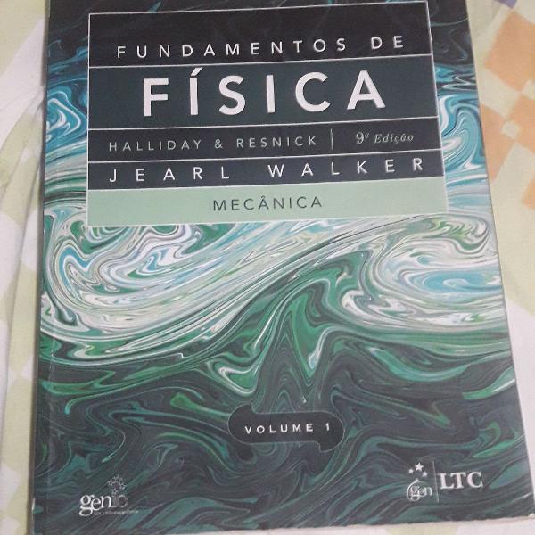 Fundamentos da física halliday e renick 9 edição volume 1