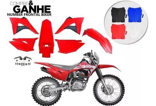 Kit plastico crf 230 biker elite 2019 brinde adesivo 08 a 19