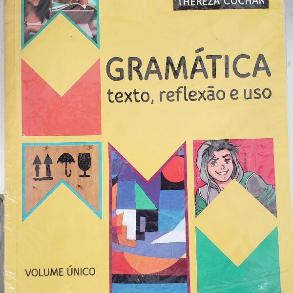 Livro gramática texto, reflexão e uso - william roberto