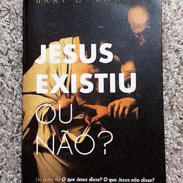 """Livro """"jesus existiu ou não?"""" de bart d. ehrman"""
