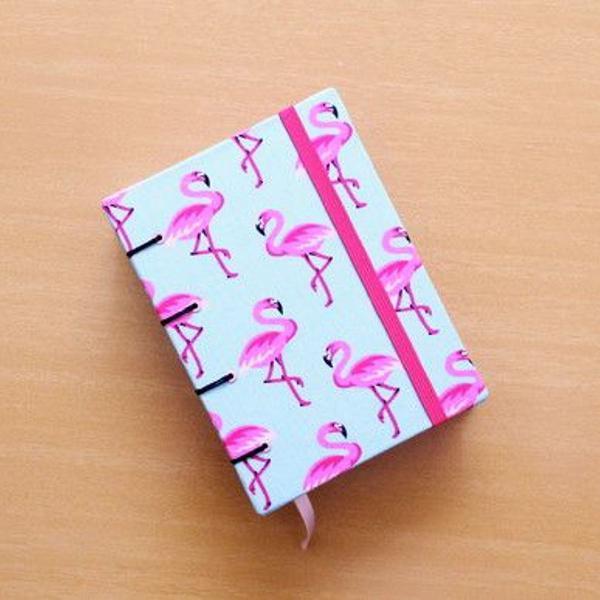 Agenda diária 2020 a6 'flamingos'