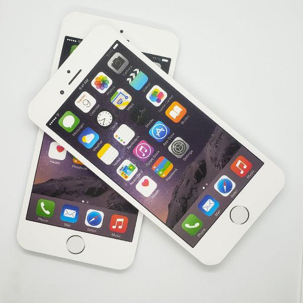Bloco de anotação em formato de iphone 6