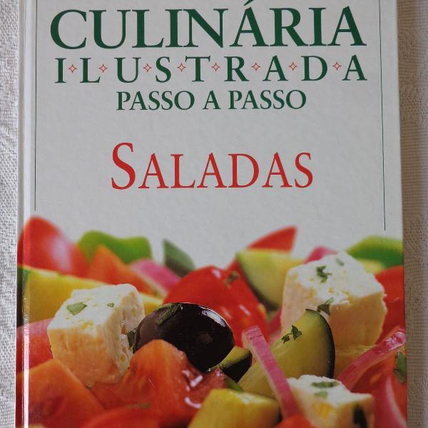 Cúlinaria ilustrada passo a passo - saladas
