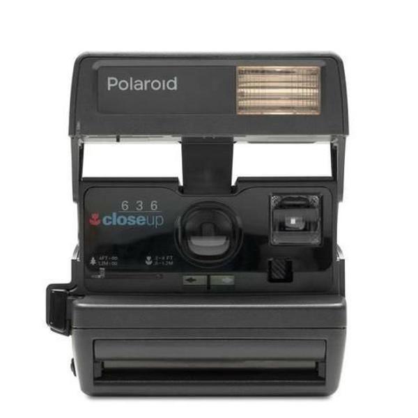 câmera analógica maquina fotográfica polaroid closeup 636