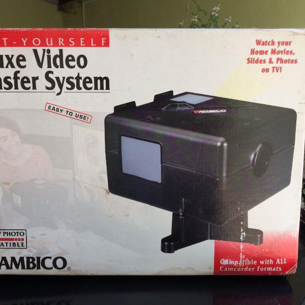 Digitalizador de video, fotos, filmes e slides