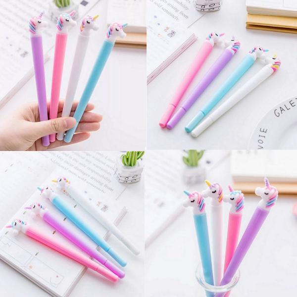 Kit de canetas de unicórnio (novo)