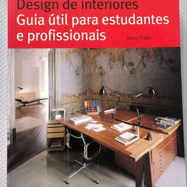 Livro - design de interiores - guia útil para estudantes e