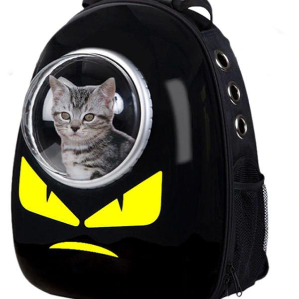 Mochila bolsa p/ transporte passeio animais gato cachorro