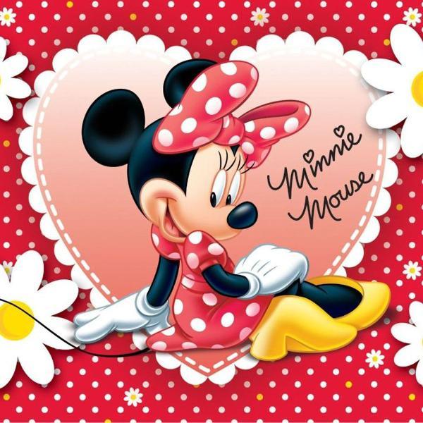 Painel de festa minnie mouse infantil disney