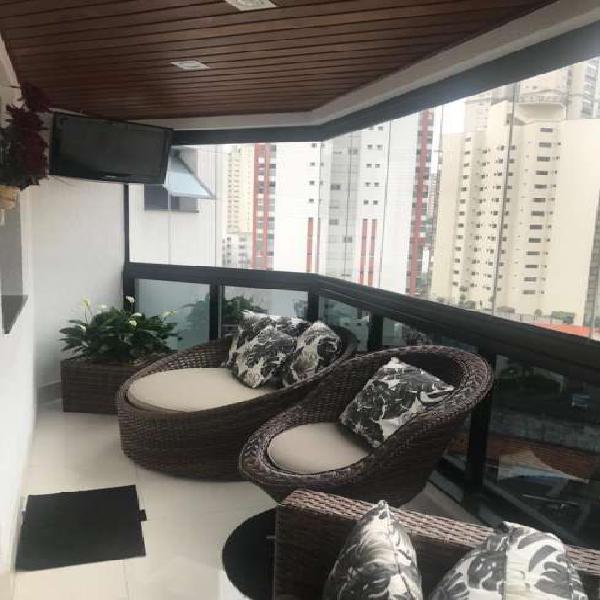 Apartamento alto padrão tatuapé - r$ 1.300.000,00