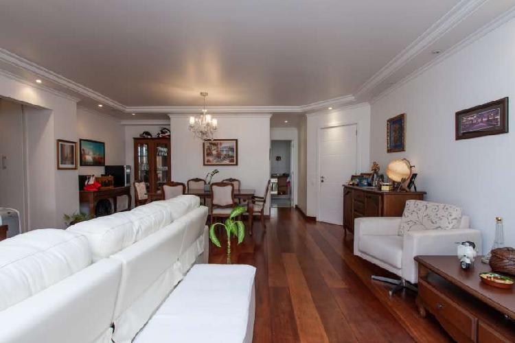 Apartamento campo belo 118m2 - condominio paço das águas