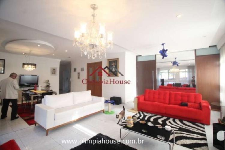 Apartamento para locação e venda com 280m² - paraíso,