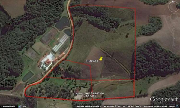 Chácara em campo largo 4 hectares