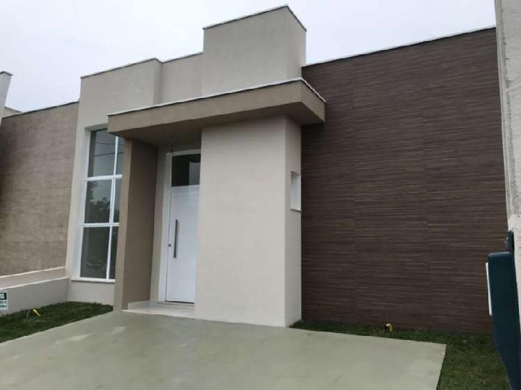 Casa térrea 100m² - condomínio terras de são francisco