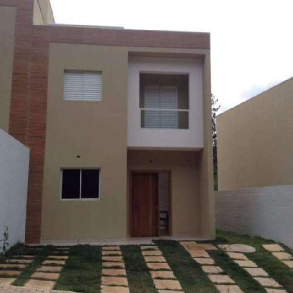Casa para venda - parque monjolo, cotia - 78m², 2 vagas