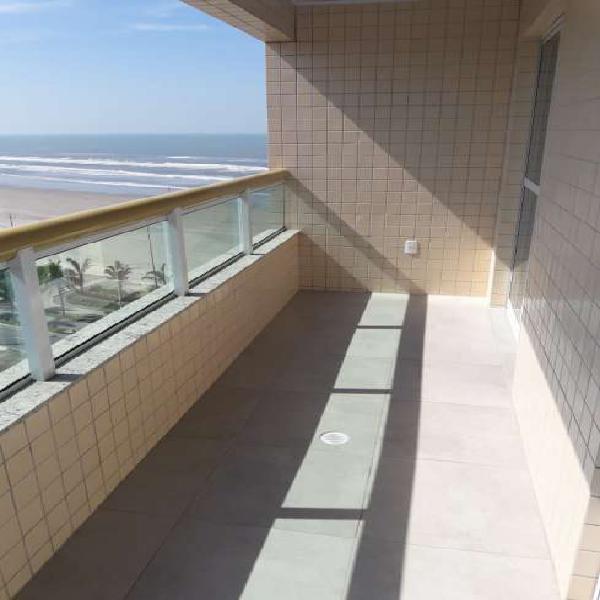 Lindo apartamento na praia, santos, 58 m²,