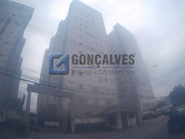 Locação apartamento santo andre vila homero thon ref: