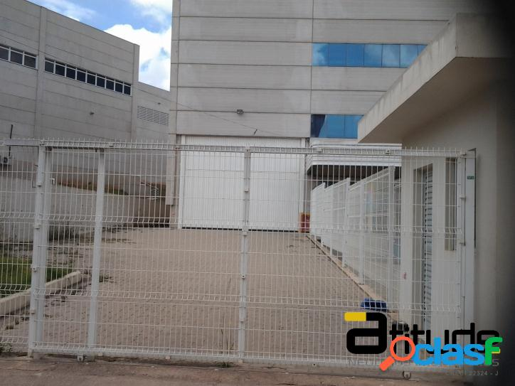 Galpão industrial e logístico para locação com 3.720 m² - jandira