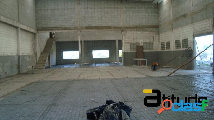 Galpão 800 m² locação chácara marco, barueri