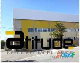 Galpão 725 m² locação cond. fechado - santana parnaíba - sp