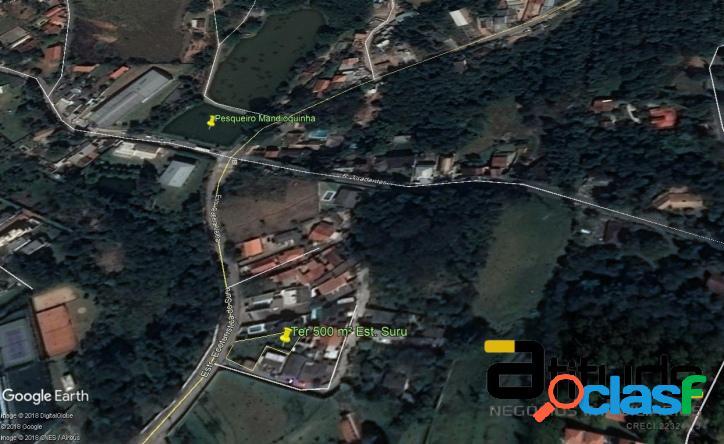 Terreno de 500 m² no Suru em Santana de Parnaíba 1