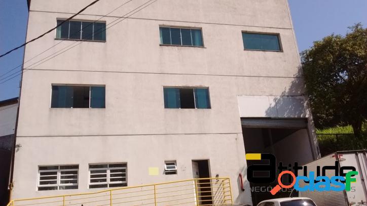 Galpão p/ Locação Área Fabril de 1.100 Industrial Barueri 1