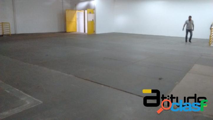 Galpão p/ Locação Área Fabril de 1.100 Industrial Barueri 2
