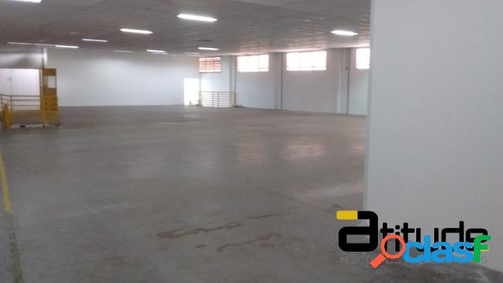 Galpão p/ Locação Área Fabril de 1.100 Industrial Barueri 3