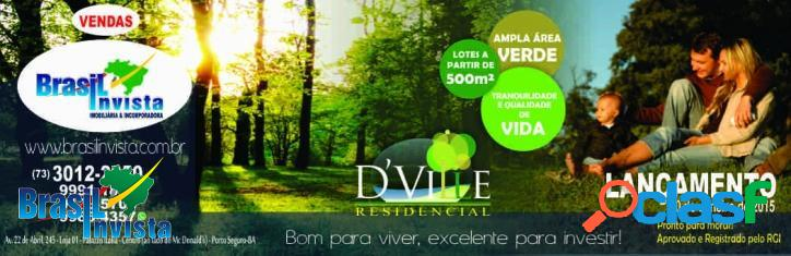 Novo loteamento em Porto Seguro multi-familiar REF 312