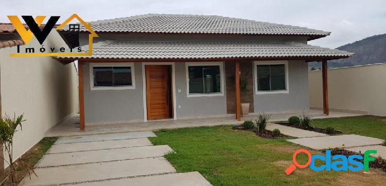 Excelente casa com terreno grande em itaipuaçu