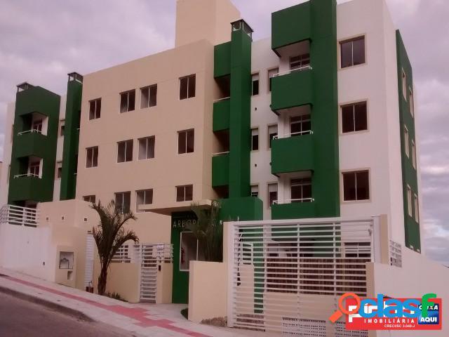 Apartamento 02 dormitórios, para venda direta caixa, forquilhinha, são josé, sc