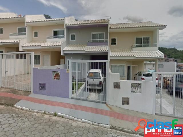 Casa geminada para venda direta caixa, bairro forquilhas, são josé, sc