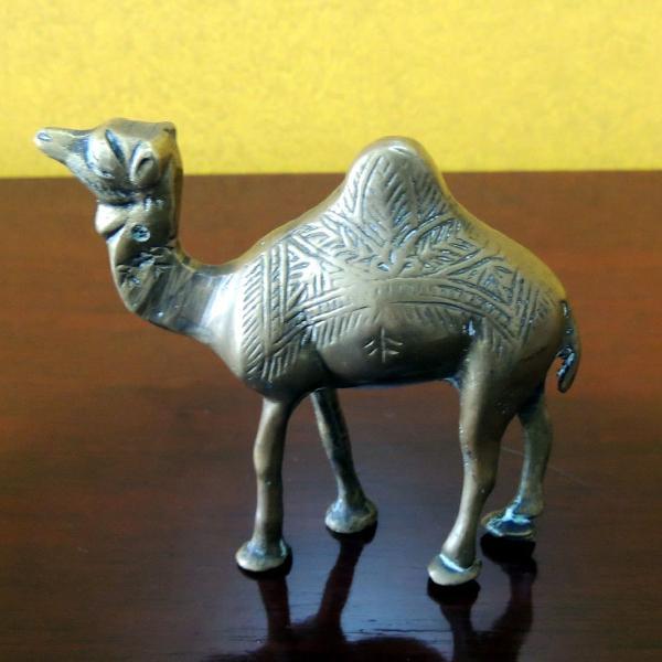Camelo, cinzeiros em bronze anos 40 da cidade de damascus