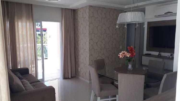 Cobertura mobiliada 3 quartos em joao paulo - florianópolis