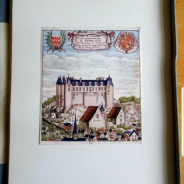 Caixa 80 desenhos castelos frança antiga