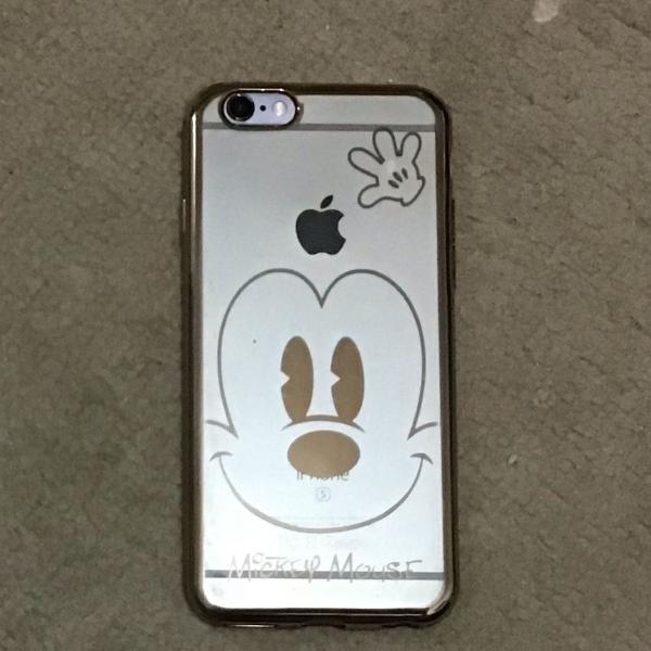 Capinha para iphone 6/6s mickey mouse