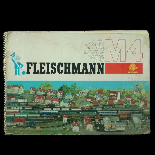 Catálogo de modelismo ferroviário da marca alemã