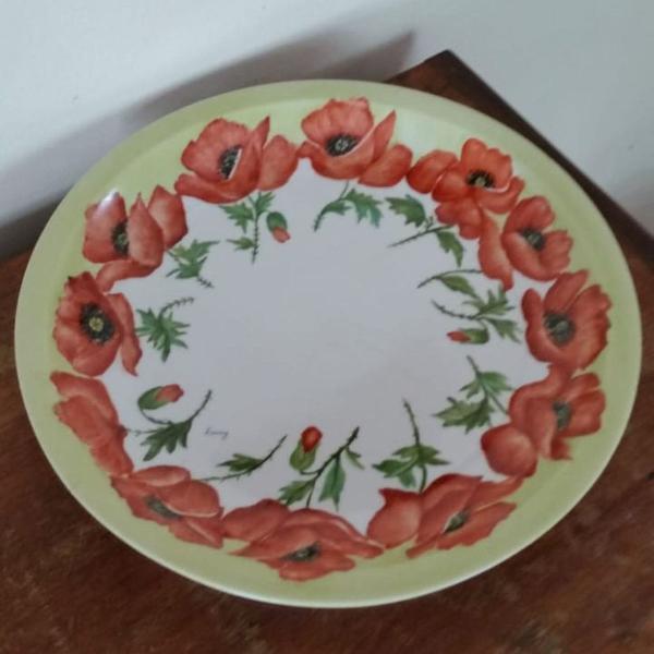 Centro mesa porcelana