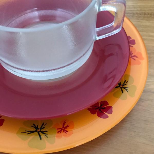 Conjunto café/chá