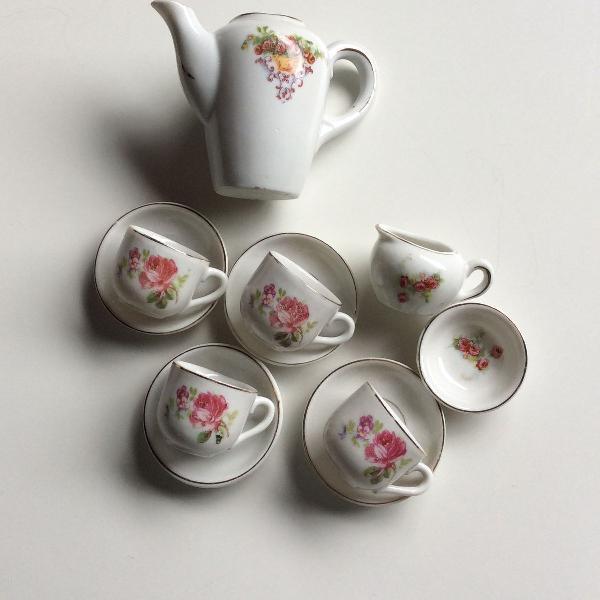 Mini conjunto café