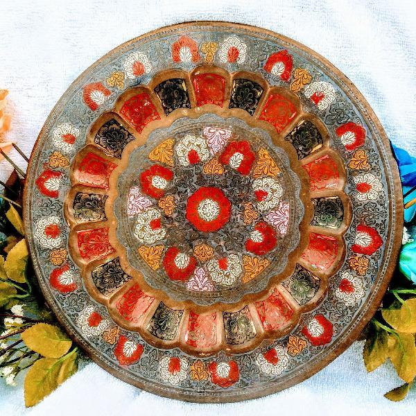 Prato mandela da turquia , mandala da positividade