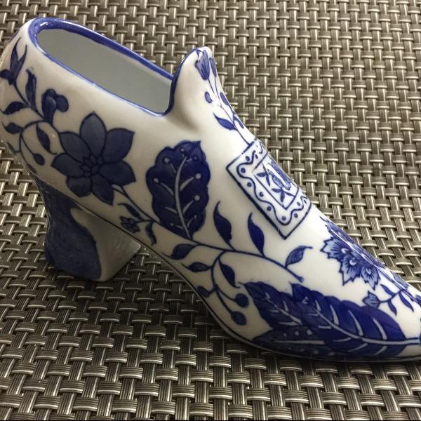 Sapato em porcelana fina chinesa - baum bros.