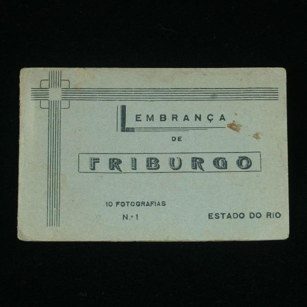 Souvenir com 10 fotografias de nova friburgo - rj - anos 40