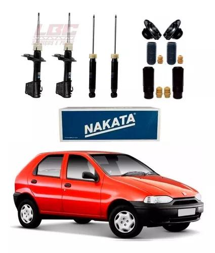 Kit 4 amortecedor nakata + kit palio 96 97 98 99 2000