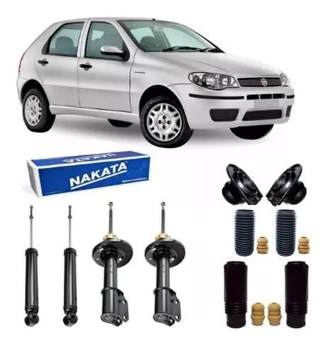 Kit 4 amortecedor original nakata + kit palio 2007 2008 2009