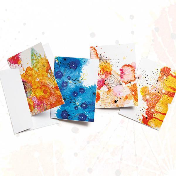 Kit cartões comemorativos de natura