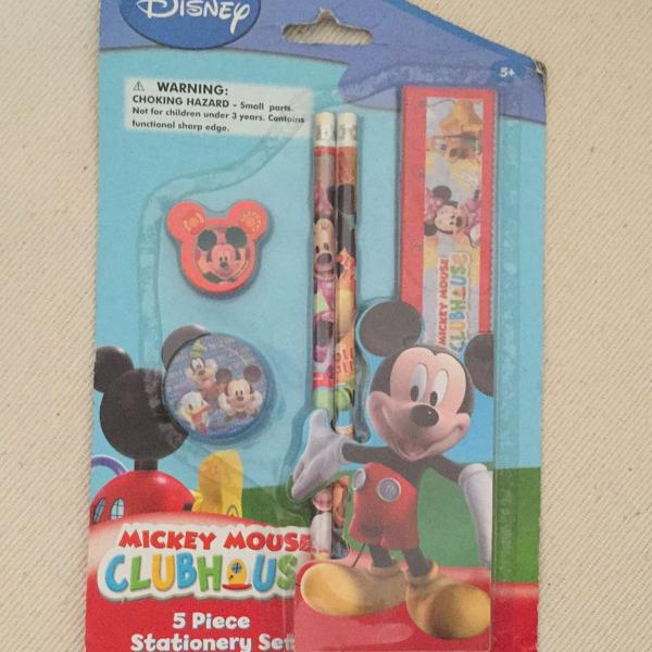 Kit escolar mickey