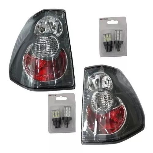 Lanternas originais par mitsubishi pajero tr4 2010 completa